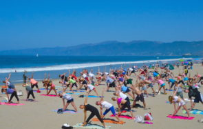 Beach Yoga with Brad Keimach