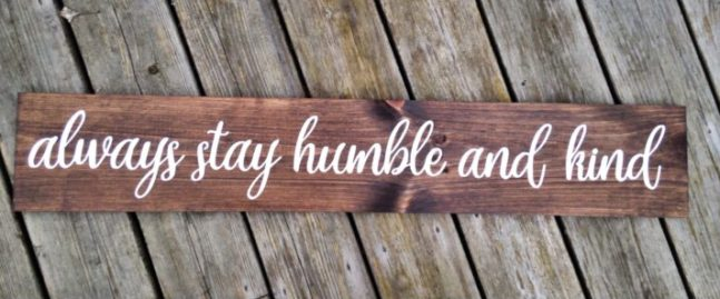 Sign Decor Co Humble&Kind