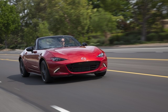Miata Lead Muskoka Road