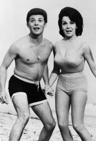Frankie Avalon and Annette Funicello