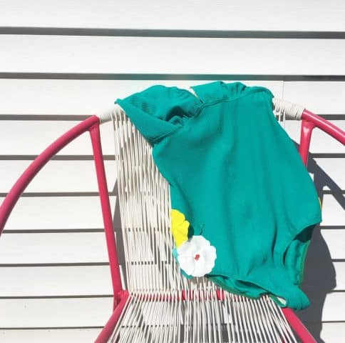 Teal One Piece Bathing Suit - TWB Co.