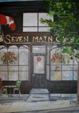 Seven Main Cafe, Pat Hillcoat