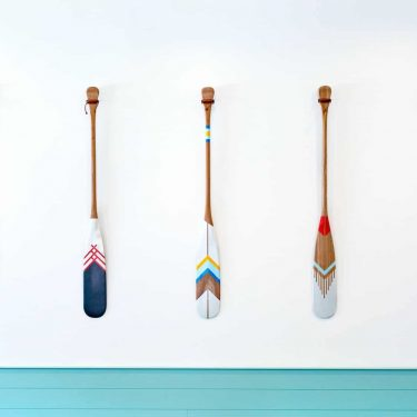 How To Paint A Paddle: Art at the Cottage in Six Easy Steps
