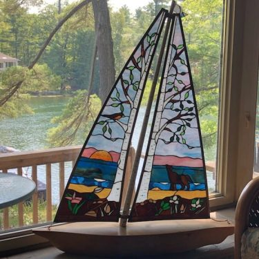 A Story In Stained Glass: Maureen Haines